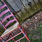 Resting Chair Art Print