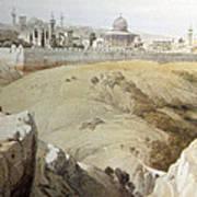 Resting Near Jerusalem Art Print