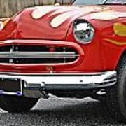 Restored Classic Car Art Print