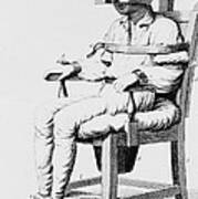 Restraining Chair 1811 Art Print