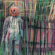 Return Of Pumpkinhead Man Art Print