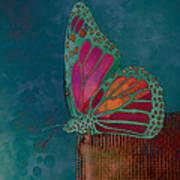 Reve De Papillon - S04bt02 Art Print by Variance Collections