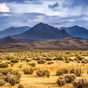 Reverse Mountains And Aeolian Buttes Art Print