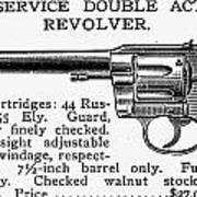Revolver, 19th Century Art Print