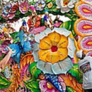 Rex Mardi Gras Parade Ix Art Print
