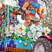 Rex Mardi Gras Parade V Art Print