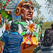 Rex Mardi Gras Parade Vii Art Print