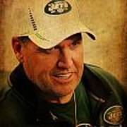 Rex Ryan - New York Jets Art Print