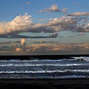 Rexham Beach Sky Art Print