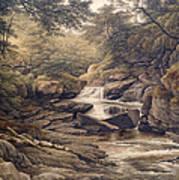 Rhiadr Ddu Near Maentwrog North Wales Art Print
