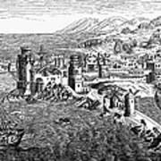 Rhodes, 1488 Art Print