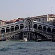 Rialto Bridge Art Print by Keith Stokes