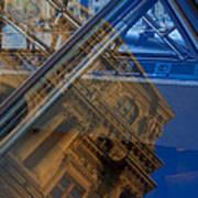 Richelieu Wing Of The Louvre Art Print