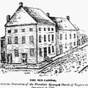 Richmond: First Capitol Art Print