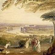 Richmond Terrace Art Print by Joseph Mallord William Turner