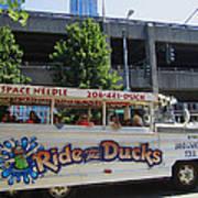 Ride The Ducks Art Print