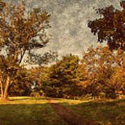 Ridge Walk - Holmdel Park Print by Angie Tirado