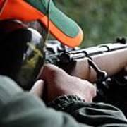 Rifle Training Art Print