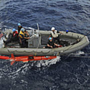 Rigid-hull Inflatable Boat Operators Art Print