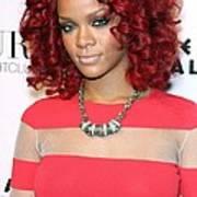 Rihanna In Attendance For Rihanna New Art Print by Everett