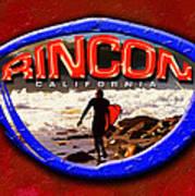 Rincon Logo Art Print by Ron Regalado