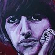 Ringo Star Art Print