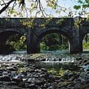 River Annalee, Ballyhaise, Co Cavan Art Print