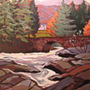 River Dochart Killin Art Print