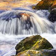 River Flows 03 Art Print