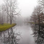 River In The Fog Art Print