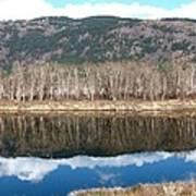 River Reflections Art Print