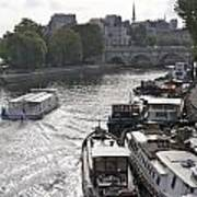River Seine. Paris Art Print