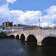 River Slaney, Enniscorthy, Co Wexford Art Print