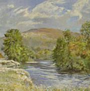 River Spey - Kinrara Art Print