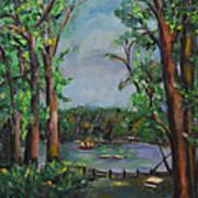 Riverbend Park Art Print