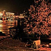 Riverfront 1865-2003 Tall Stacks  By Randall Branham Art Print