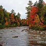 Rivers Run Through It..fall Brilliance Art Print