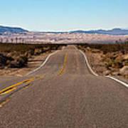 Road To Kelso Dunes Art Print