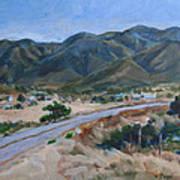 Road To Punta Banda Art Print
