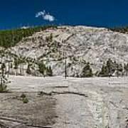Roaring Mountain Panorama Art Print