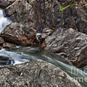 Roaring River Falls Art Print