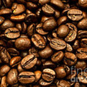 Roasted Coffee Beans Art Print