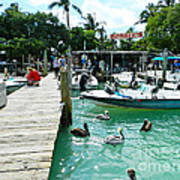 Robbies Of Islamorada Art Print