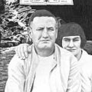 Robert And Theresa Lewis Art Print