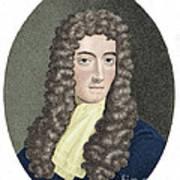 Robert Boyle, British Chemist Art Print