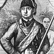 Robert Rogers, Colonial American Art Print by Photo Researchers