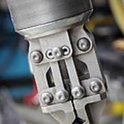 Robotic Arm On Deep Sea Submarine Art Print