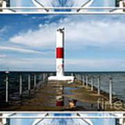 Rochester New York Harbor Lighthouse Art Print