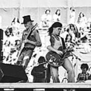 Rock And Roll At Day On The Green 1975 Art Print