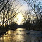 Rock Creek Near Gettysburg Art Print